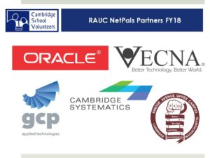 LOGOS OF RAUC AND VECNA ORACLE GCP APPLIED TECHNOLOGIES AND CAMBRIDGE SYSTEMATICS